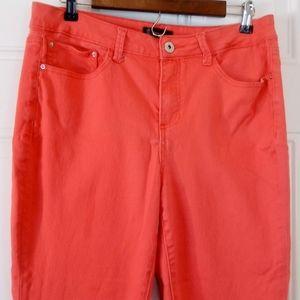 (3/$20) signature1Studio dark pink skinny jeans